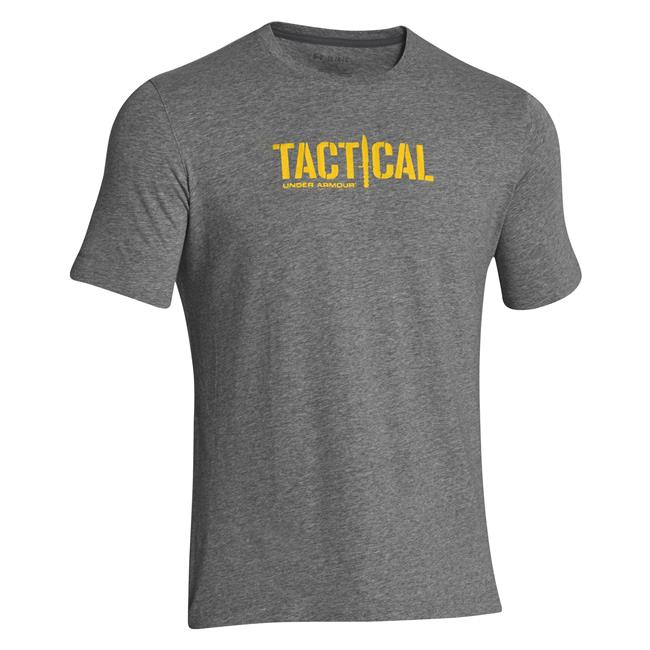 Under armour tactical logo t shirt for Under armor tactical t shirt
