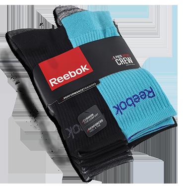 Reebok 5-pack Crew Socks