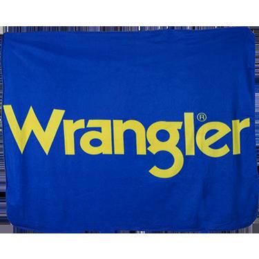Wrangler Fleece Blanket