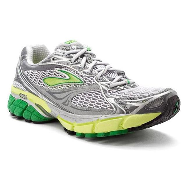 Brooks Ghost 4 White / Fern Green / Silver