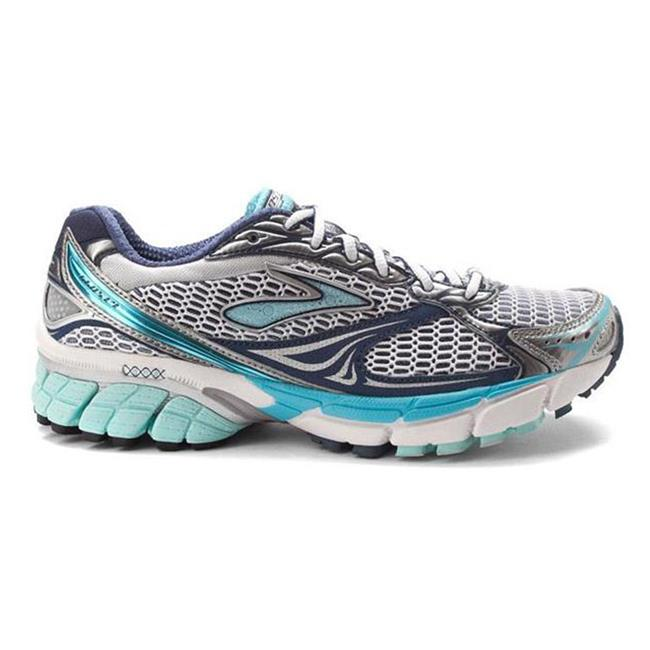 Brooks Ghost 4 White / Blue Tint / Silver