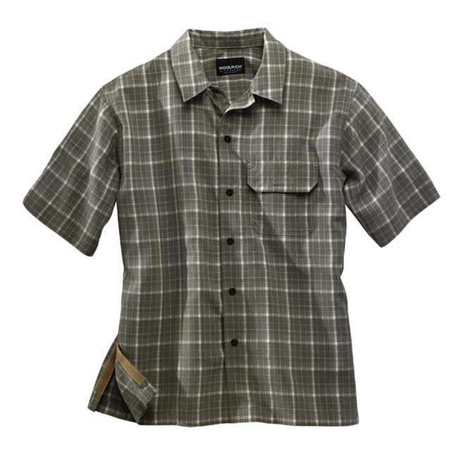 Woolrich Elite Discreet Carry Short Sleeve Shirt Light Olive