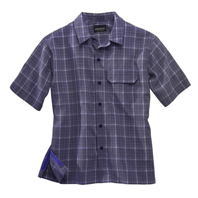 Woolrich Elite Discreet Carry Short Sleeve Shirt Navy
