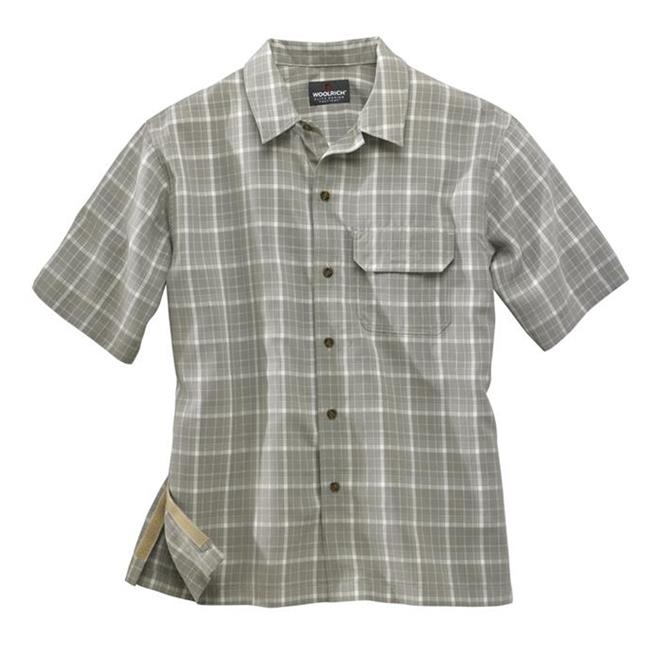 Woolrich Elite Discreet Carry Short Sleeve Shirt Shale