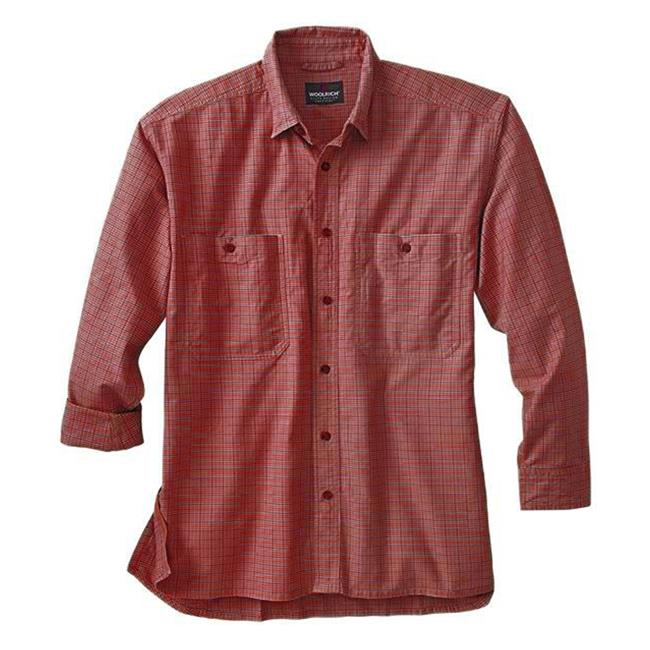 Woolrich Elite CCW Long Sleeve Shirt Ruby