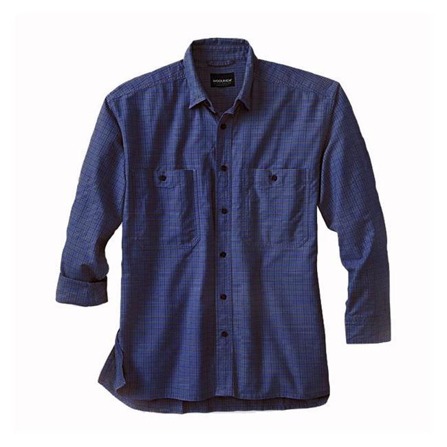 Woolrich Elite CCW Long Sleeve Shirt Deep Navy