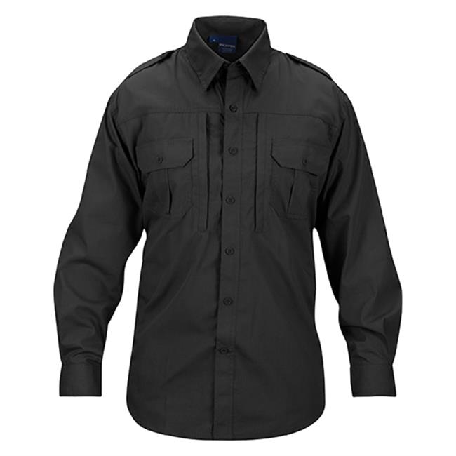Propper Lightweight Long Sleeve Tactical Dress Shirts Charcoal Gray