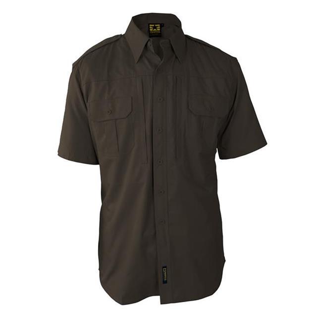 Propper Lightweight Short Sleeve Tactical Dress Shirts Sheriff's Brown