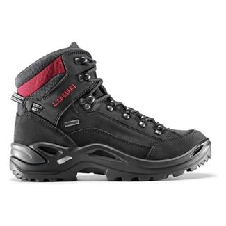 Lowa Renegade GTX Mid Black / Red