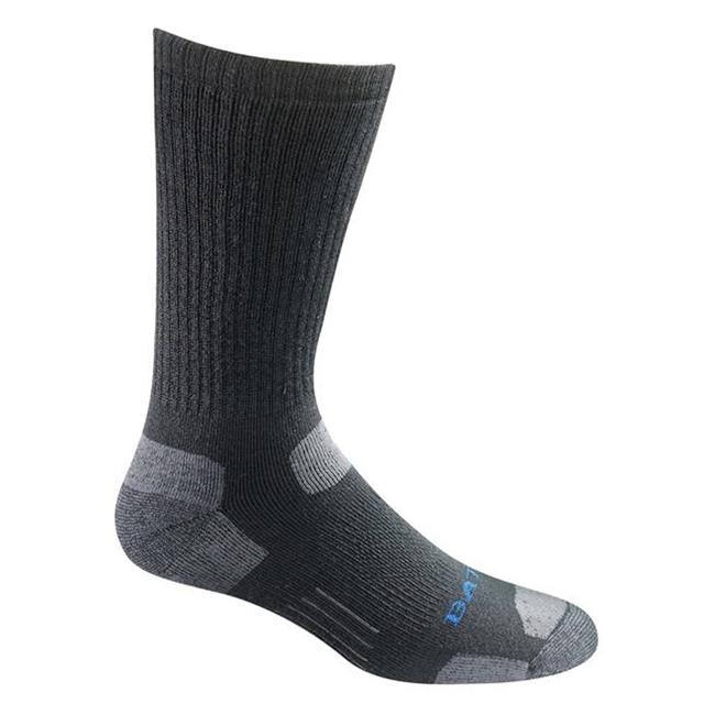 Bates Tactical Uniform Mid Calf Socks - 4 Pair Black