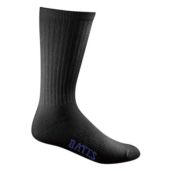 Bates Cotton Duty Socks - 16 Pair Black
