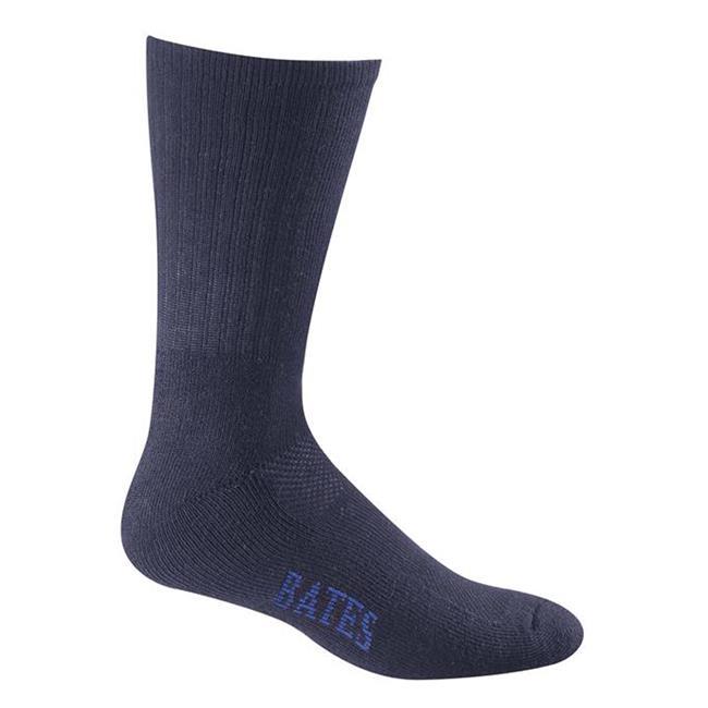 Bates Athletic Performance Socks - 8 Pair Navy
