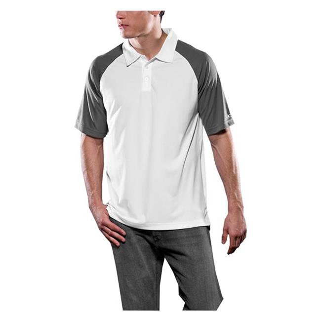Oakley Short Sleeve Colorblock Polo Sheet Metal