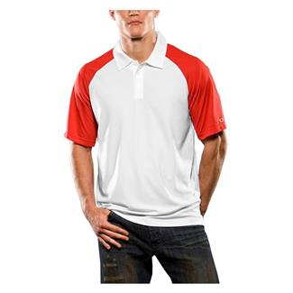 Oakley Short Sleeve Colorblock Polo Red Line