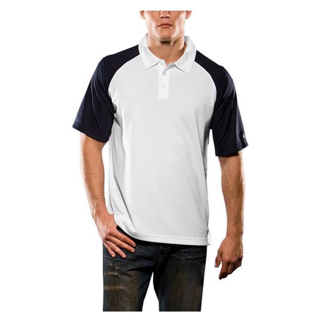 Oakley Short Sleeve Colorblock Polo Navy Blue