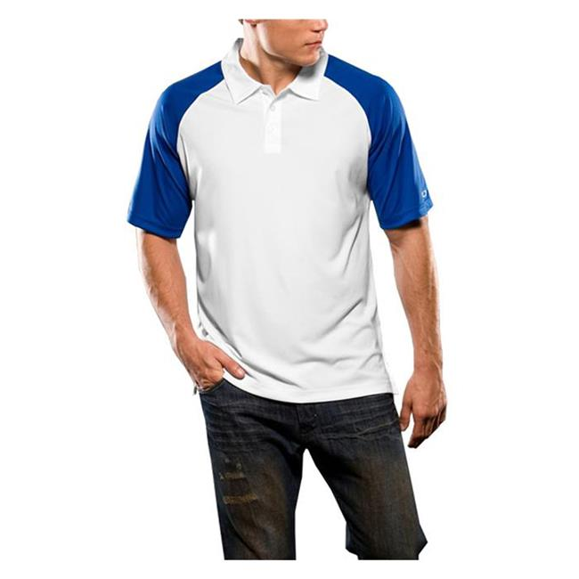 Oakley Short Sleeve Colorblock Polo Olympian Blue