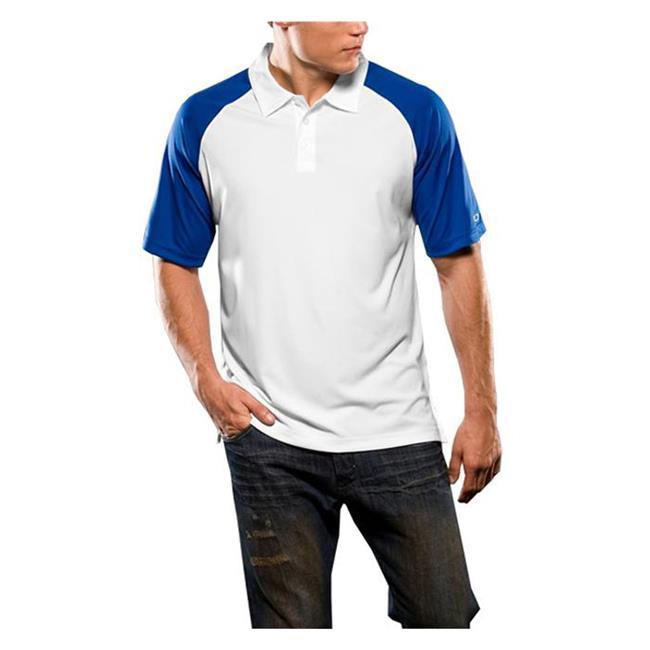 Oakley Short Sleeve Colorblock Polo Olympian Blue