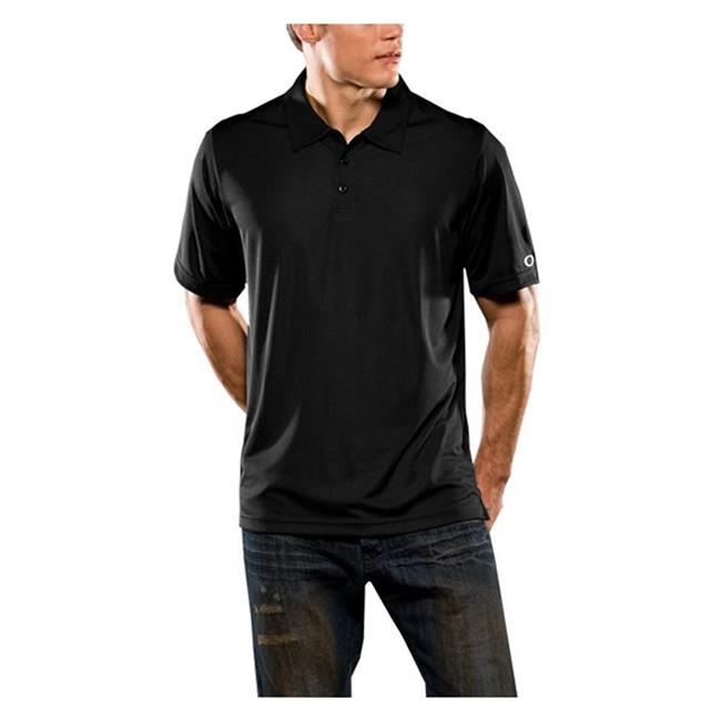Oakley Short Sleeve Solid Polo Black