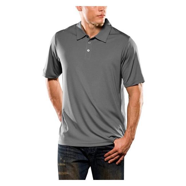 Oakley Short Sleeve Solid Polo Sheet Metal