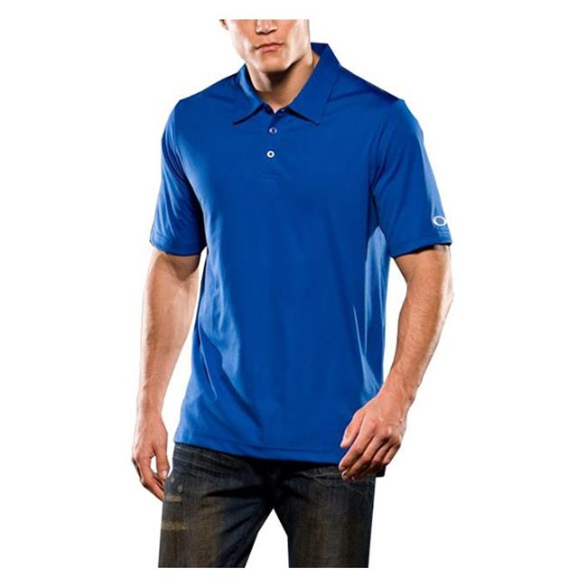 Oakley Short Sleeve Solid Polo Olympian Blue