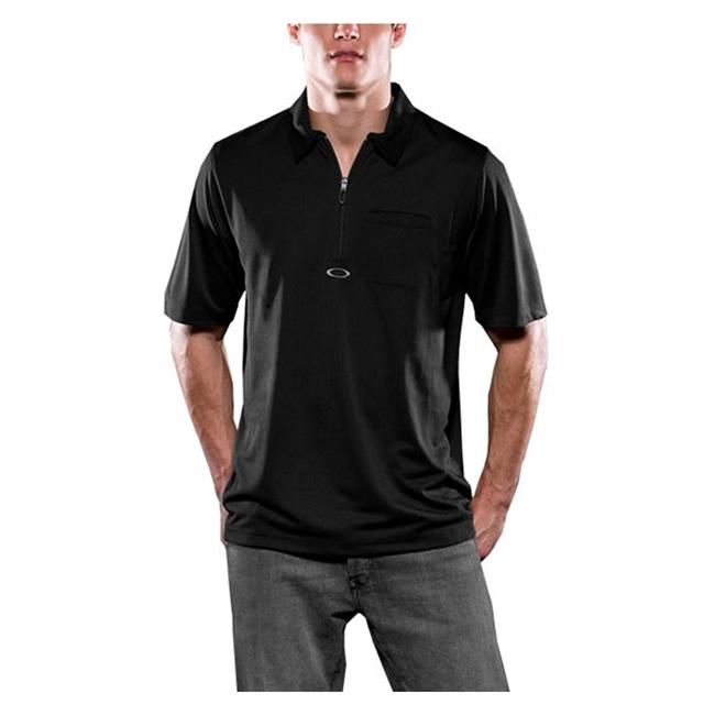Oakley Short Sleeve Track Polo Black