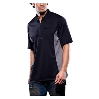 Oakley Short Sleeve Track Polo Black / Sheet Metal