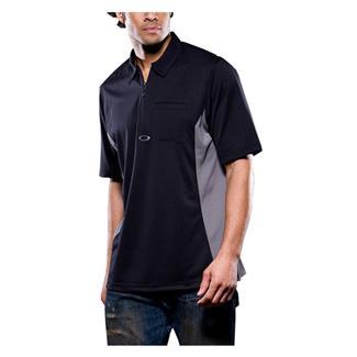 Oakley Short Sleeve Track Polo Black / Sheet Metal