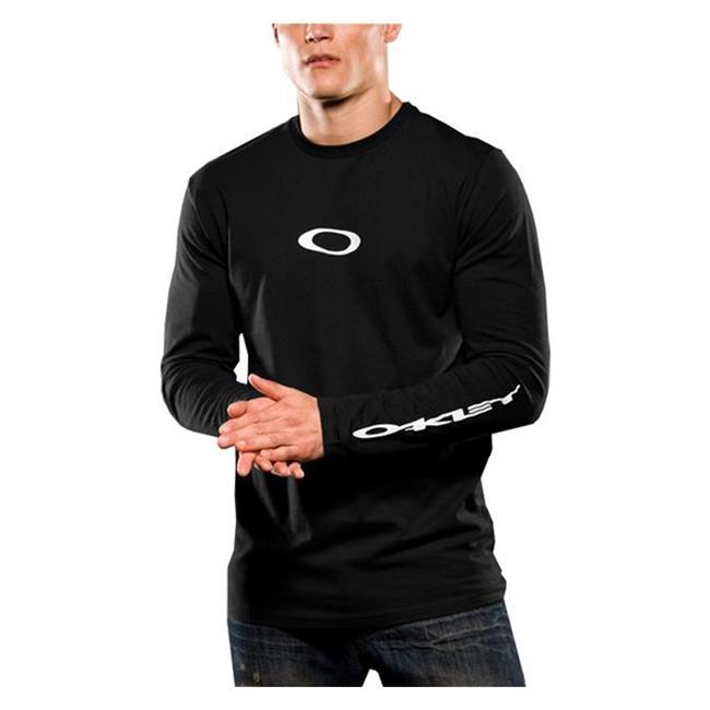 Oakley Long Sleeve Icon Tee Black