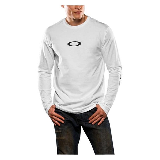 Oakley Long Sleeve Icon Tee White