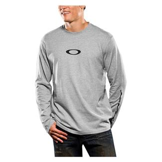 Oakley Long Sleeve Icon Tee Heather Gray