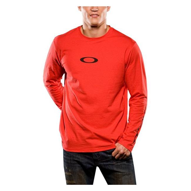 Oakley Long Sleeve Icon Tee Red Line