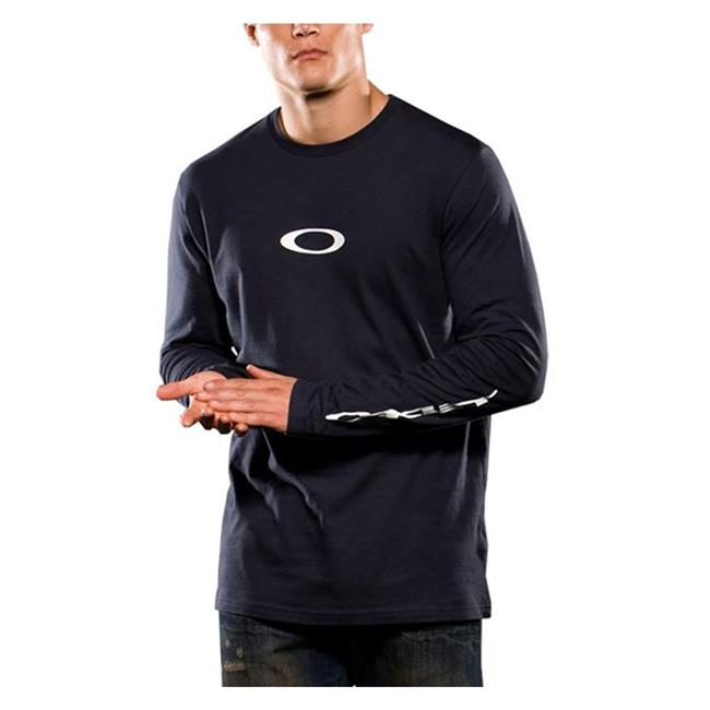 Oakley Long Sleeve Icon Tee Navy Blue