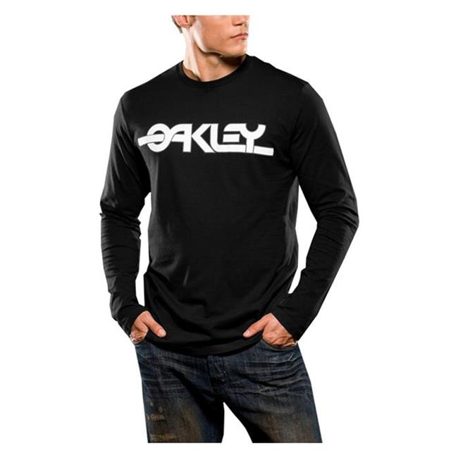 Oakley Long Sleeve Flashback Tee Black