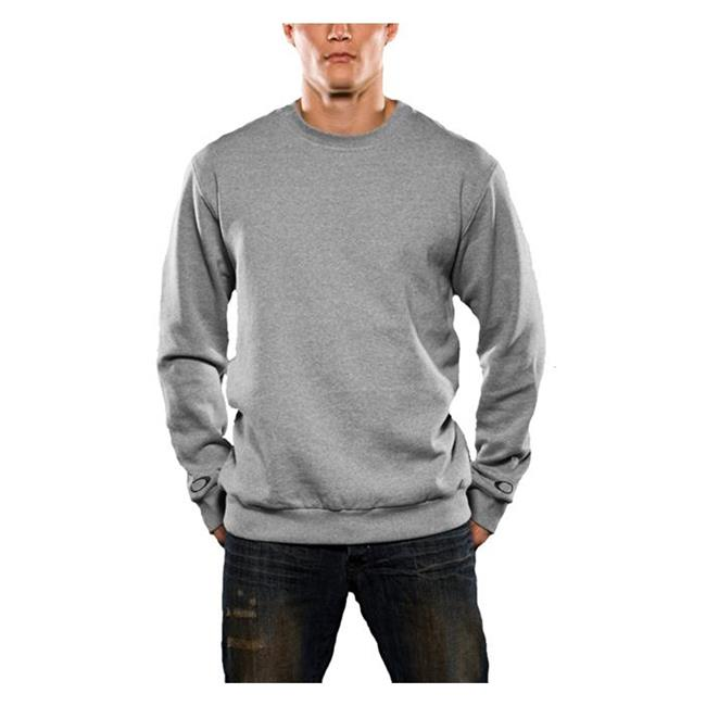Oakley Long Sleeve Track Crew Heather Gray