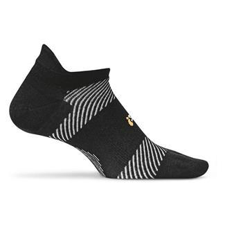 Feetures! High Performance 2.0 Ultra Light No Show Tab Socks Black