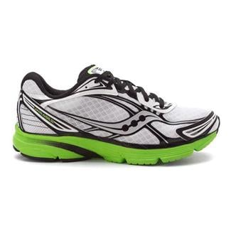 Saucony Mirage 2 White / Black / Slime Green