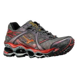 Mizuno Wave Prophecy Anthracite / Gold - Chinese Red