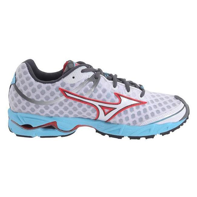 Mizuno Wave Precision 12 White / Chinese Red