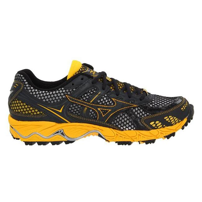 Mizuno Wave Ascend 6 Anthracite / Spector Yellow