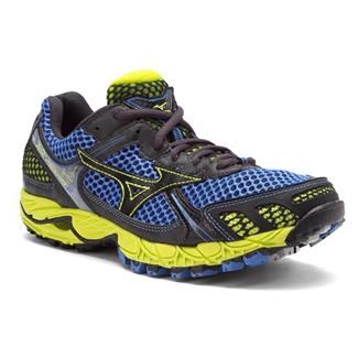 Mizuno Wave Ascend 6 Marina / Anthracite / Lime Punch
