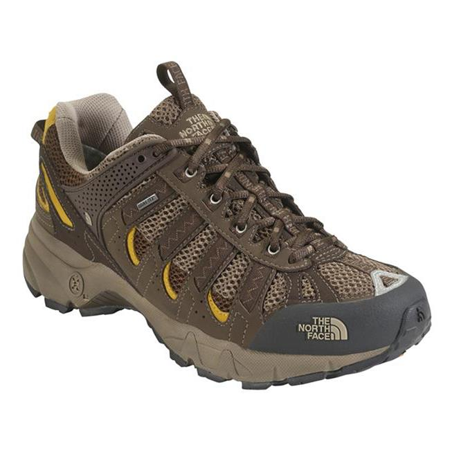 The North Face Ultra 105 GTX XCR Demitasse Brown / Algae Yellow