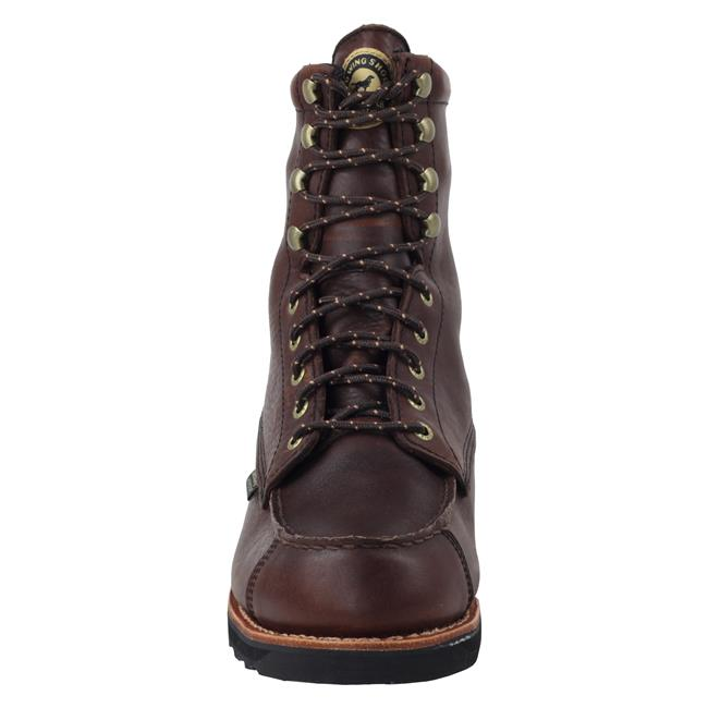 "Irish Setter 9"" WingShooter Moc Toe WP Dark Brown"