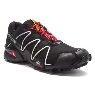 Salomon Speedcross 3 Black / Black / Metallic Silver
