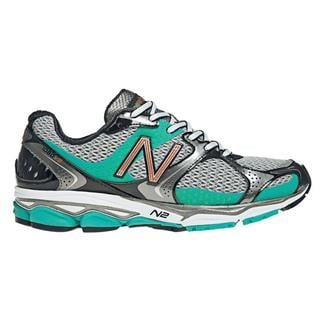New Balance 1080v2 Silver / Teal