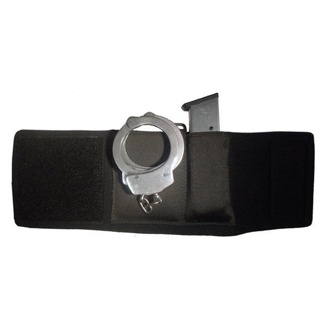 Gould & Goodrich Neoprene Mag & Handcuff Ankle Carrier Black