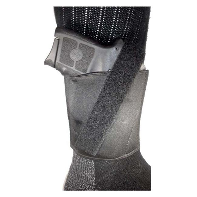 Gould & Goodrich Neoprene Ankle Holster Black