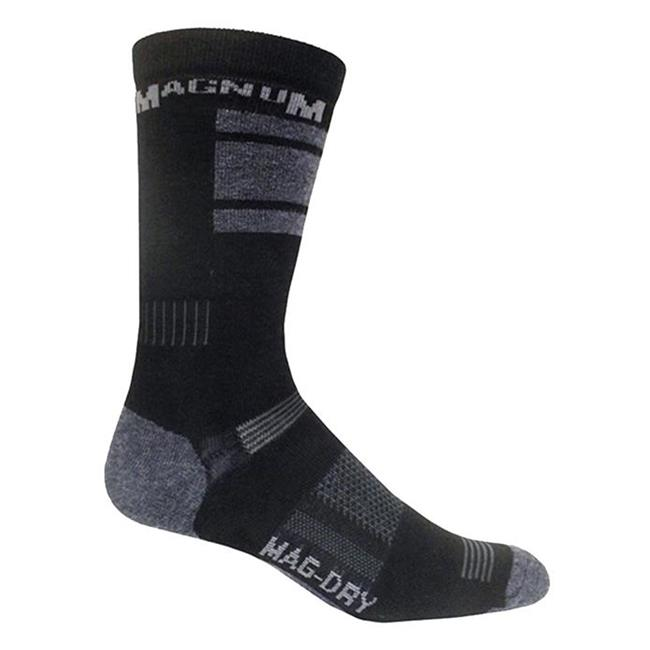 Magnum MX-2 Crew Socks Black