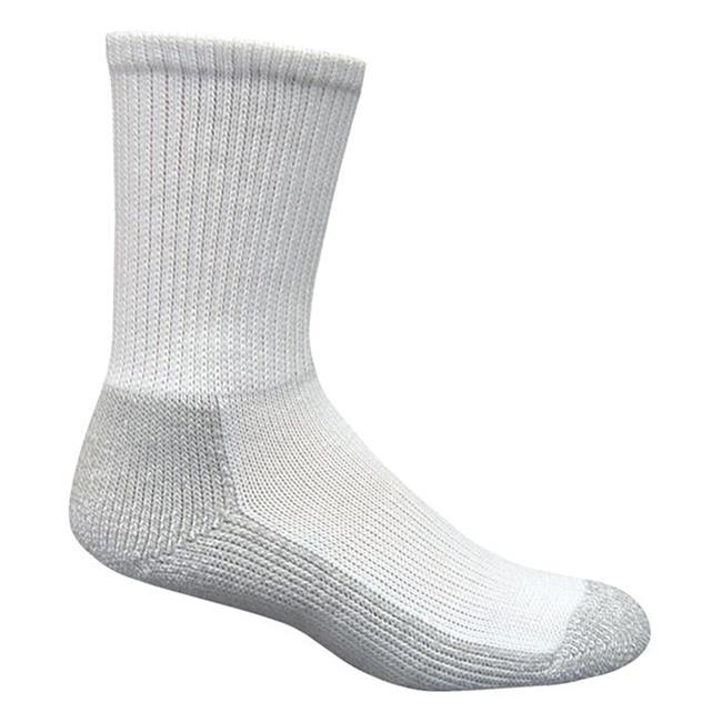 Magnum MX-1 Crew Socks - 2 Pack White