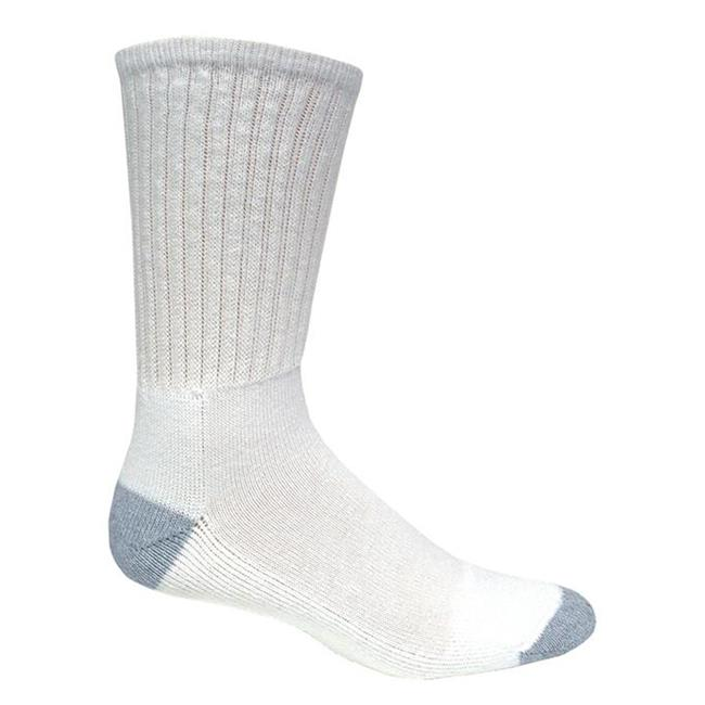 Magnum DC-1 Crew Socks - 6 Pack White