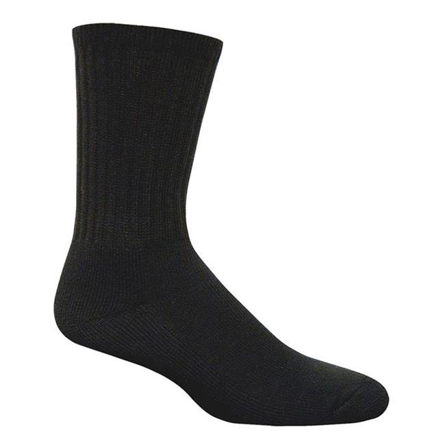 Magnum DC-1 Crew Socks - 6 Pack Black
